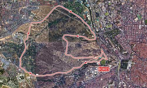 circuito ciclismo triatlon madrid